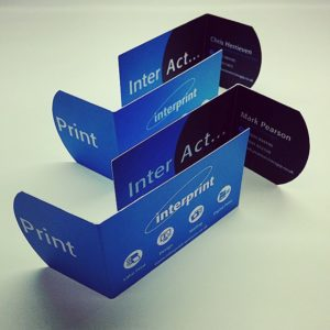 Norwich Business Cards printed by Interprint for Mark Pearson